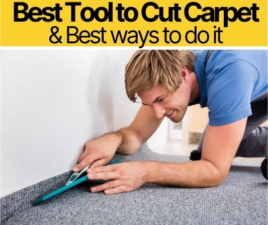 Best Tools To Cut Carpet With & Best Way to Cut Carpet!