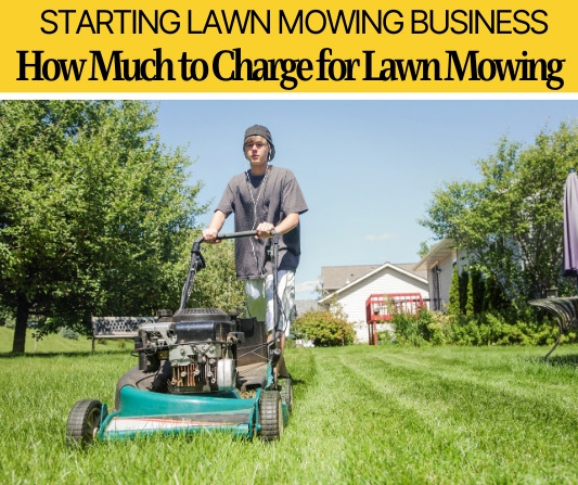How Much to Charge for Lawn Mowing (How much Can I Make?)