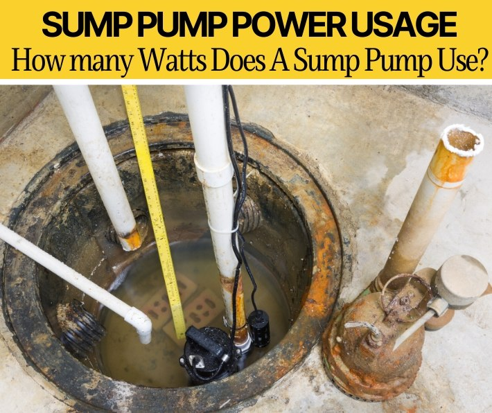 How Many Watts / Amps Sump Pump Use & What Generator to Get