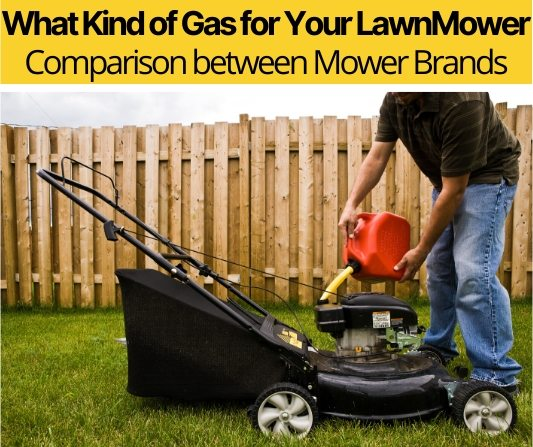 What Kind of Gas For your LawnMower & What to Be Aware Of!