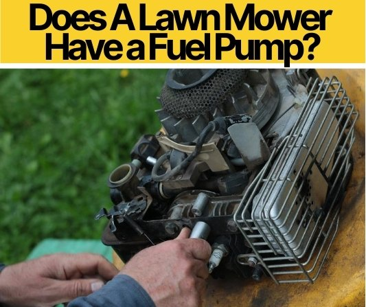 Does A Lawn Mower Have a Fuel Pump & How To Test/Swap it